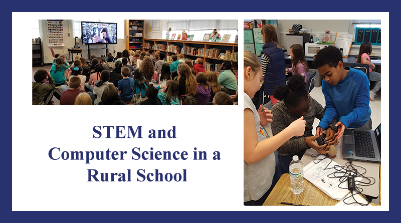 Project title image for STEM and Computer Science in a Rural School.